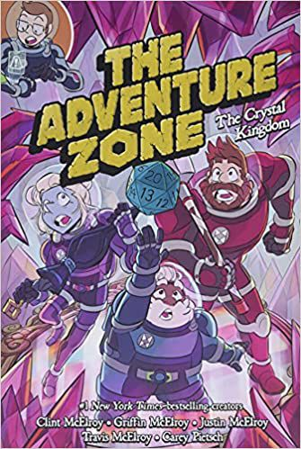 cover of The Crystal Kingdom (The Adventure Zone Graphic Novels #4) by Carey Pietsch, Clint McElroy, Griffin McElroy, Travis McElroy, and Justin McElroy
