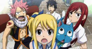Fairy Tale anime characters