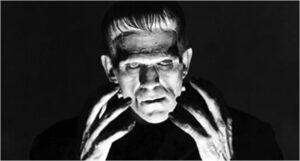 Boris Karloff as Frankenstein's monster in Frankenstein (1931)