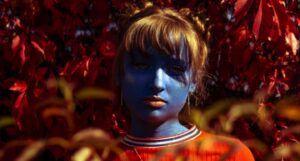 halloween creature girl