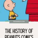 Pinterest image for peanut comics history