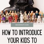 pinterest image for introducing your kids to star wars