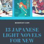 pinterest image for japanese light novels