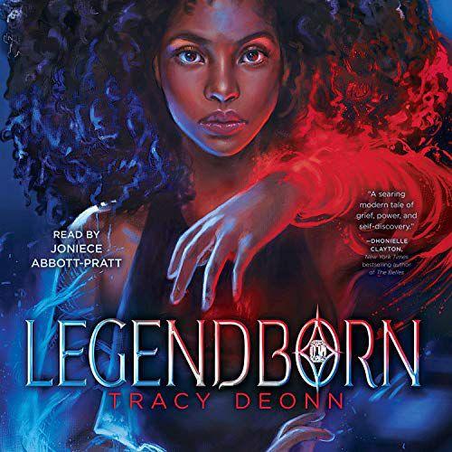 audiobook cover of Legendborn