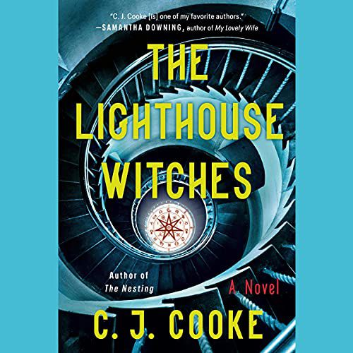audiobook cover image of The Lighthouse Witches