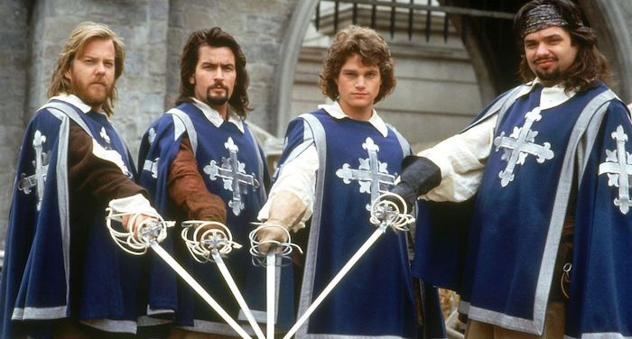 still from 1993 film the three musketeers
