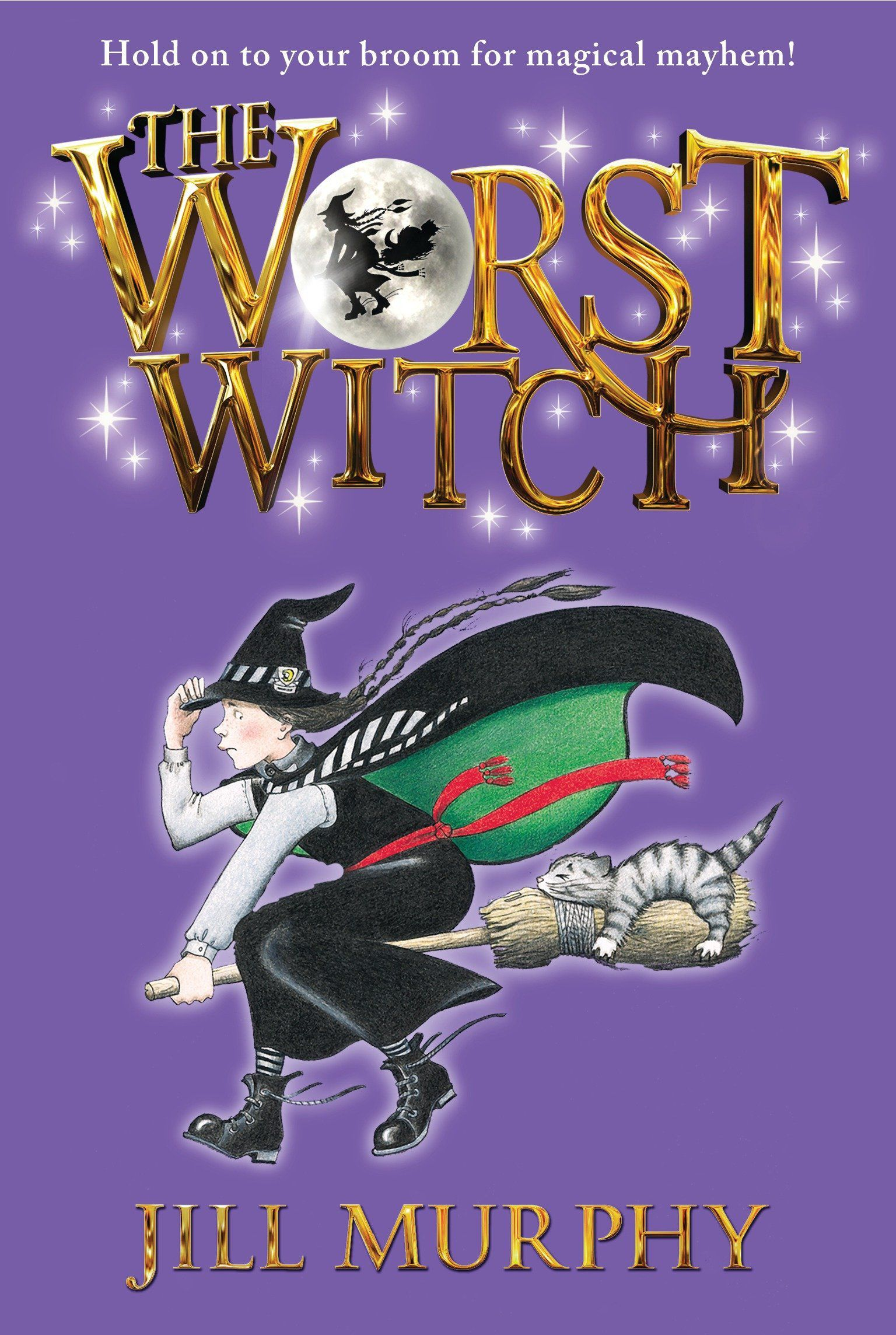 Book cover for Jill Murphy's The Worst Witch.