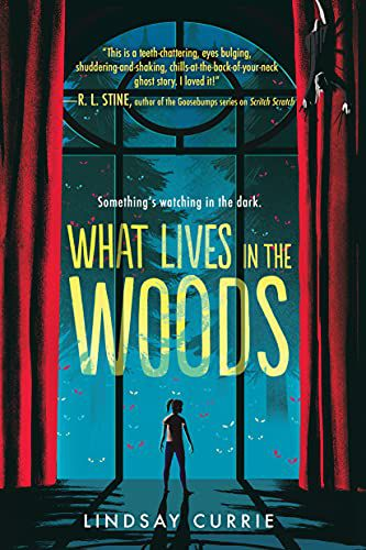 what lives in the woods book cover