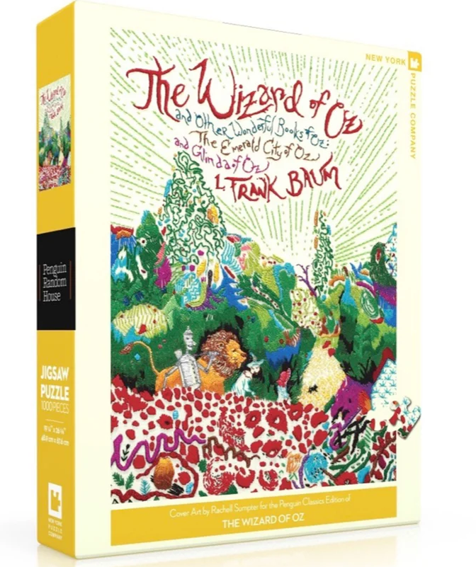 puzzle based on the kids' book wizard of oz