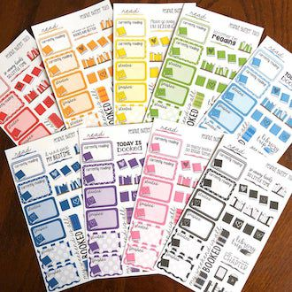 Bookish Planner Stickers