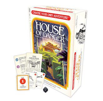 Choose Your Own Adventure: House of Danger Board Game