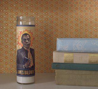 James Baldwin Saint Candle
