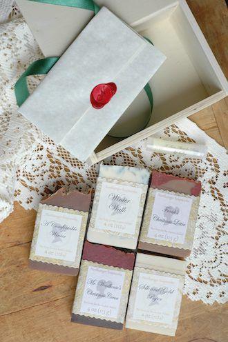 Jane Austen Christmas Soap Box