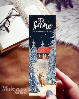 Let It Snow Bookmark
