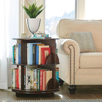 Reader's Rotating End Table